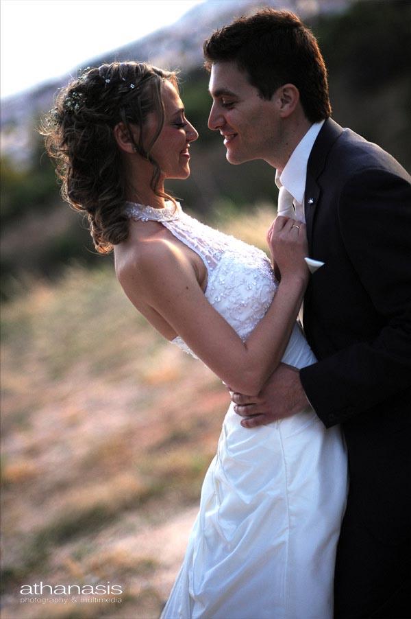 το ζευγαρι λιγο πριν το φιλί