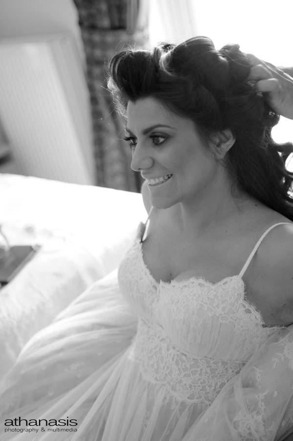 η νύφη ετοιμάζετε