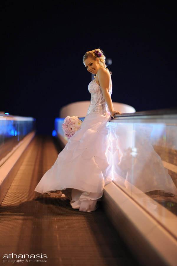 η νύφη στον διάδρομο