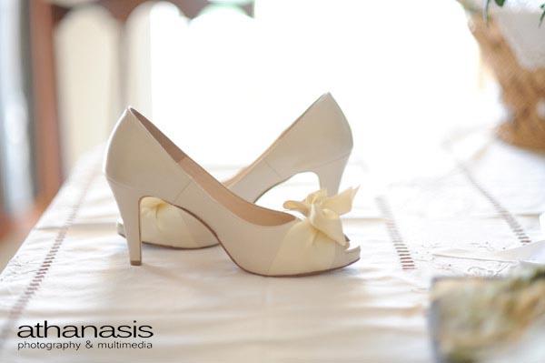 τα νυφικά παπούτσια