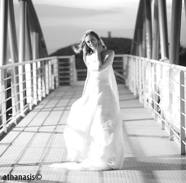 Ασπρόμαυρη φωτογραφια γαμου
