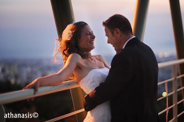 φωτογραφίες γάμου στο λυκόφως