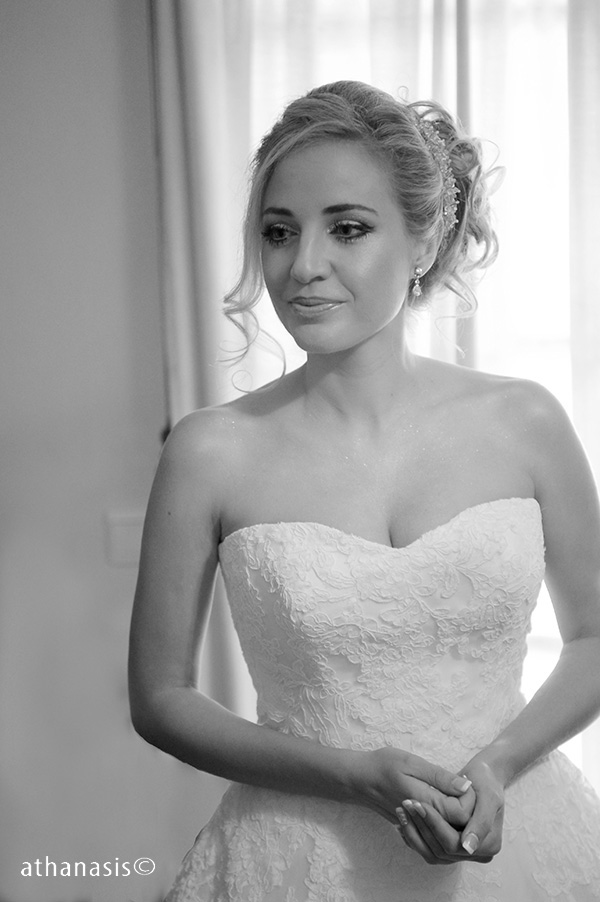 μαυρόασπρη φωτογραφια γαμου