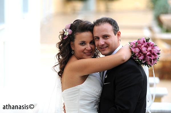 φωτογραφία γάμου με φυσικότητα
