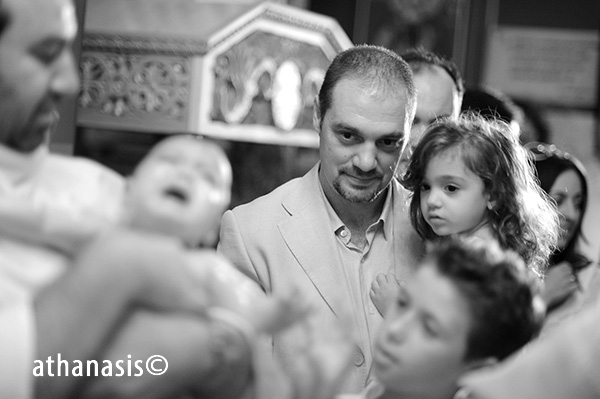φωτογράφος βάφτισης