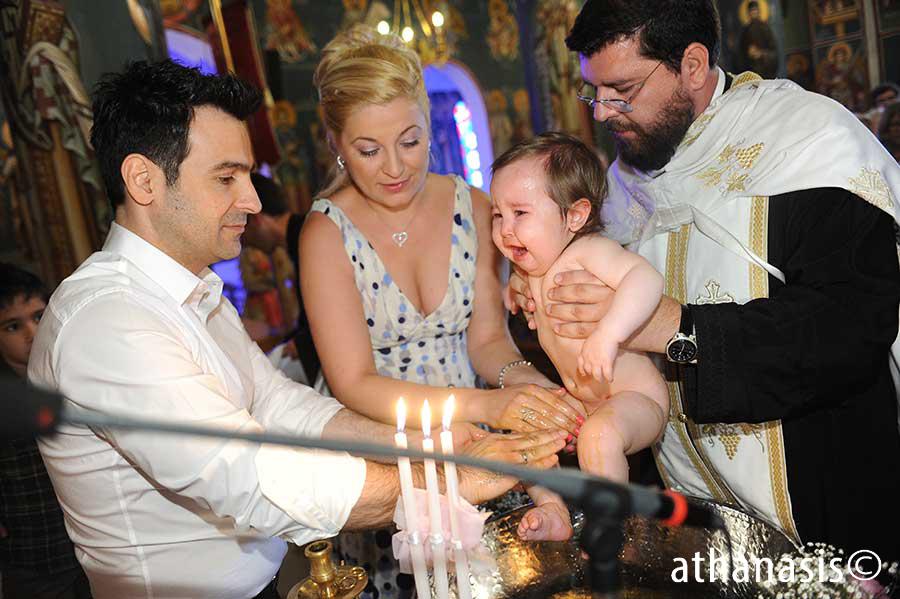 φωτογραφια βαφτισης