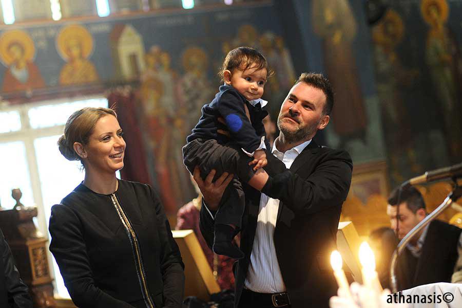 Φωτογραφίες βάφτισης
