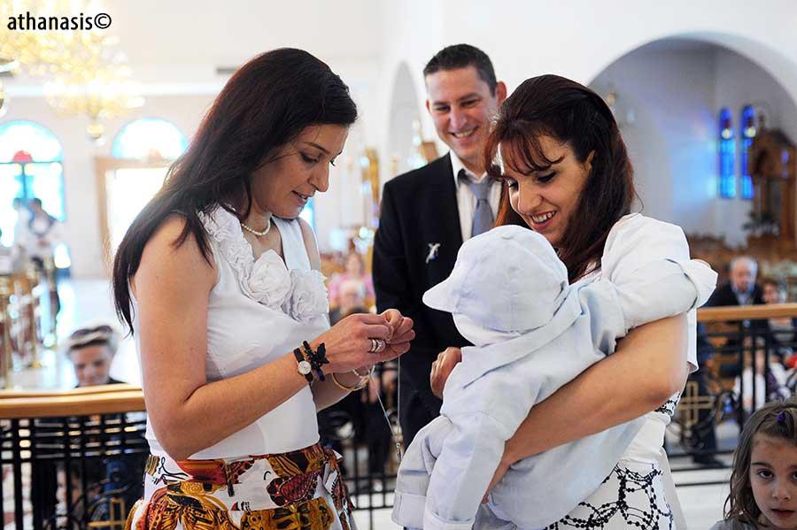 Φωτογραφία βάφτισης  athanasis