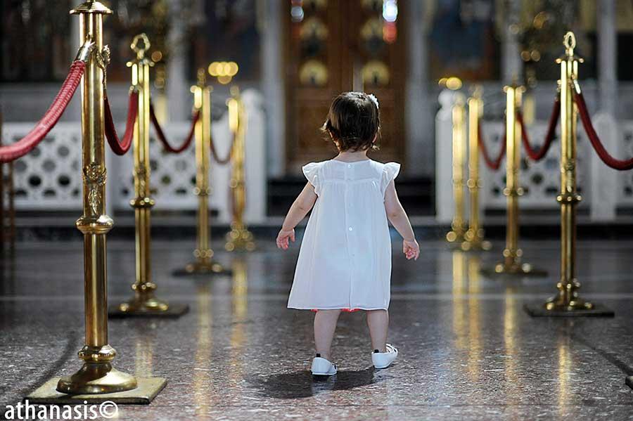 φωτογραφία βάφτισης